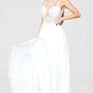 Fashion Nova she is grace embellished gown